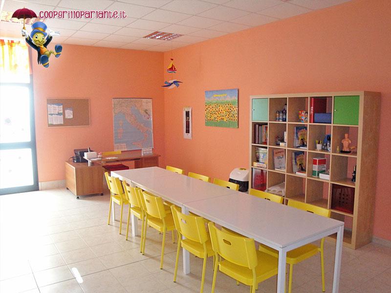 Il girasole centro educativo cooperativa il grillo parlante for Sala girasol